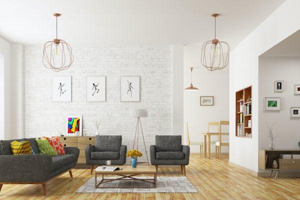 Smart Home Living area